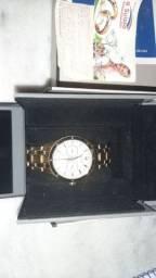 Relógio Bulova dourado nota fiscal