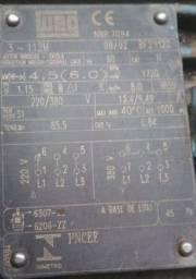 Motor, 6CV, 1720RPM - Usado