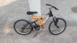 Bicicleta com amortecedor infantil  aro 20