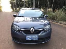 Renault Logan 2017 Flex 1.6 Segundo Dono Completo + Multimidia 67 mil km
