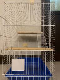 Gaiola 3 andares p chinchila/rato