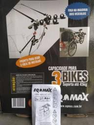 Suporte de Bike Eqmax 3 Bikes ZX