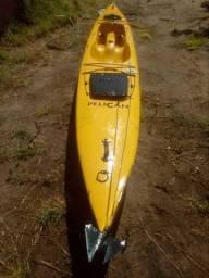 Caiaque raríssimo. c-kayak Pelican, Fabricado na na Africa do sul, com 4,5 m
