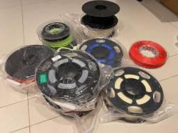 Jogo de filamentos ABS de 1 kg impressora 3D