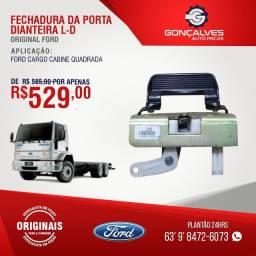FECHADURA DA PORTA DIANTEIRA ORIGINAL FORD CARGO L-D