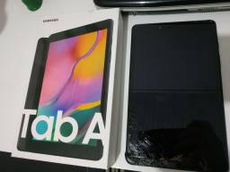 Tablet Samsung T295 tela quebrada