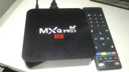 TV box mxq pro 5g completa (leia)
