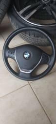 Volante BMW completo com airbag
