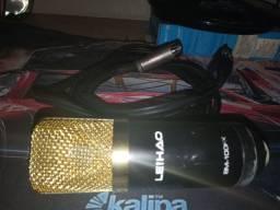 Microfone Condensador BM-100FX Usb