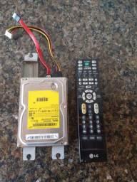 Vendo HD Samsung e controle