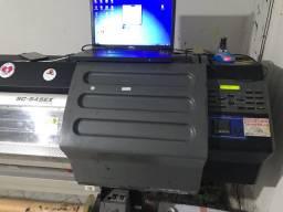 Impressão e recorte roland SC545ex 29.500