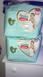 Kit Fralda pampers premium