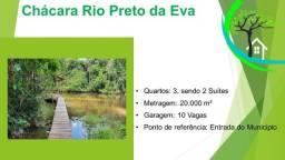 Título do anúncio: chácara no rio preto da eva