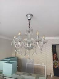 Lustre pendente 7 lâmpadas