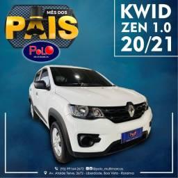 Título do anúncio: Renault Kwid Zen 1.0 20/21