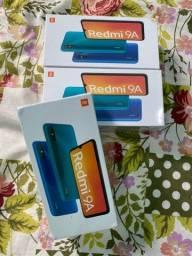 XIAOMI REDMI 9A 32GB TELA 6.53 lacrados novos (azul, cinza e verde)