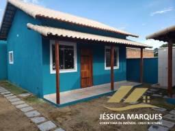 Cod.10 Casa de 1 quarto e área gourmet em Unamar - Cabo Frio - RJ