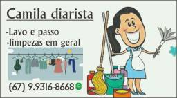 Diarista 100 reais