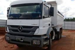 Mercedes-Benz Axor 2831 caçamba basculante e contrato de serviço