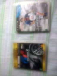 Dois jogos PS3 50 reais