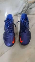 Chuteira Nike modelo CTR360 Campo N 40 cor Azul Nova na Caixa Nunca Usada