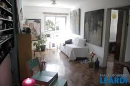 Apartamento à venda com 1 dormitórios em Vila madalena, São paulo cod:605141