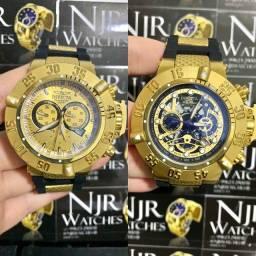 Relógio Invicta subaqua noma III preto novo