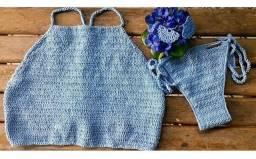 Biquínis de crochês