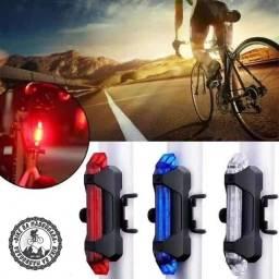 Promoção sinalizador Lanterna traseira led farol para bicicleta usb recarregavel