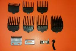 Pentes e lâmina de máquina de cabelo