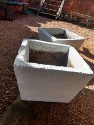 Vasos de concreto para Flores