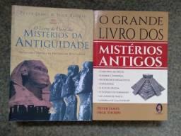 Coleção de livros sobre a Atlântida, o continente desaparecido