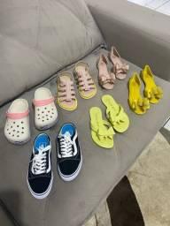 Lote sapatos número 33