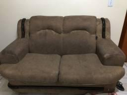Sofá de 2 e 3 lugares usados