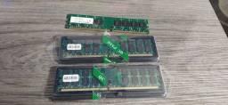 Memória 2x 4gb De Ram Ddr2 800mhz Pc Amd Módulo De Memória De Desktop