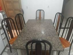 Mesa de cozinha 6 lugares