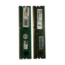 2 memórias ram DDR3 2gb 1333MHz