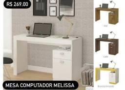 Título do anúncio: Mesa Computador ( Estudos ) Melissa 269,00