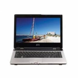 Aproveite-Notebook Sti Is-1412 com bateria excelente ,aceito propostas de preço