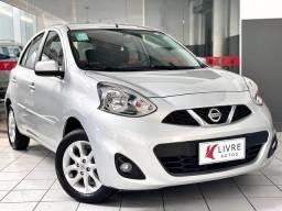 Título do anúncio: Nissan MARCH 1.6 SV 16V FLEX 4P MANUAL