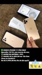 IPHONE 11 PRO MAX DOURADO 64GB