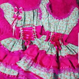 Aluguel Vestidos Junino