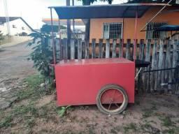 Carrinho p/ lanche e churrasco R$700