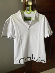 Blusa Polo Calvin Klein - Tam. PP