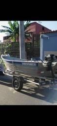 Barco Aluminio 3.5m