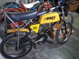 Bicicleta antiga BMX tanquinho original 1982