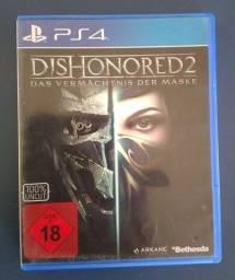 JOGO DE PS4- Dishonored 2 - Midia Fisica