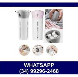 Dispenser 4x1 Shampoo Condicionador Álcool Gel e etc * Fazemos Entregas