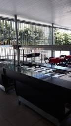 Expositor de comida (buffet dele service) quente e frio