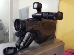 Filmadora VHS Raridade pode usar em Lives